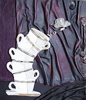 Yakuba-Elena-Stilleben-Dekoratives-Moderne-Art-Deco