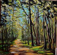 Yakuba Elena, In jungem Wald