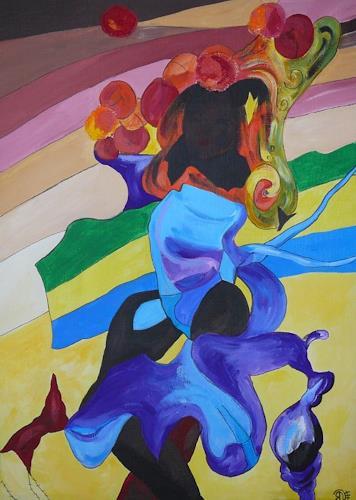 Yakuba Elena, Afrikanerin, Menschen: Frau, Sport, Symbolismus
