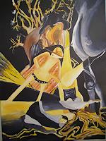 Yakuba-Elena-Abstraktes-Menschen-Frau-Moderne-Abstrakte-Kunst