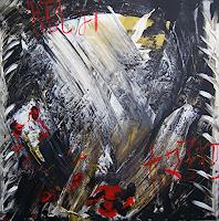 Yakuba-Elena-Abstraktes-Symbol-Moderne-Abstrakte-Kunst-Action-Painting