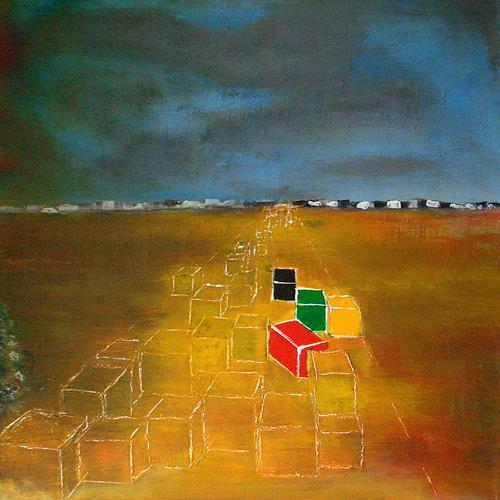 Pavel Hulka, Sommer 2000, Gesellschaft, Industrie, Realismus, Abstrakter Expressionismus