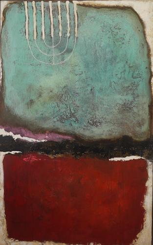 K.Ryn, Demeter's Trauer I, Abstraktes, Gegenwartskunst