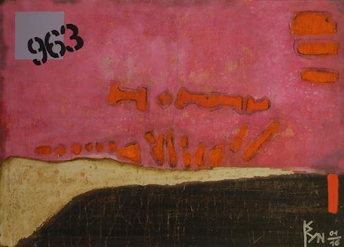 K.Ryn, Colored I, Abstraktes, Dekoratives, Abstrakte Kunst