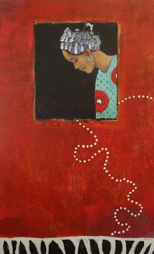 K.Ryn, Das Mädchen mit dem Ohrring, Menschen: Frau, Gesellschaft, Neue Figurative Malerei