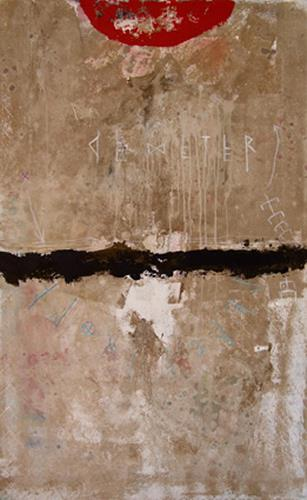 K.Ryn, Demeter's Trauer II, Abstraktes, Gegenwartskunst