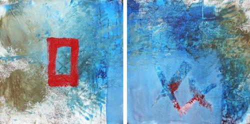 K.Ryn, Haiku II, Abstraktes, Gegenwartskunst