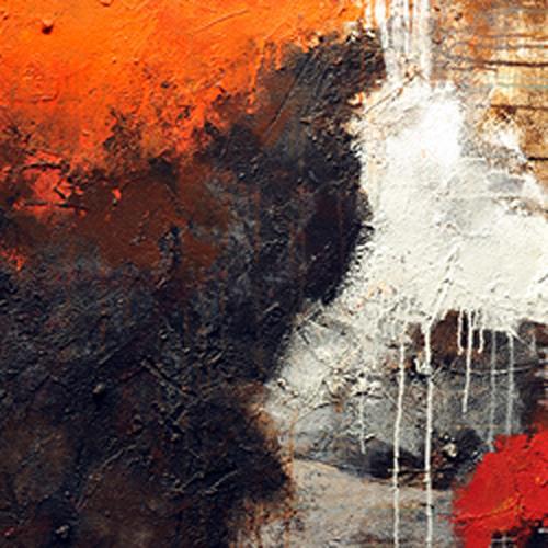 K.Ryn, Ragnarök I, Abstraktes, Gegenwartskunst