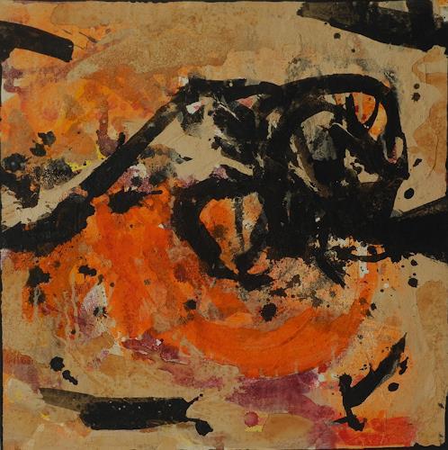 K.Ryn, Orange I, Abstraktes, Abstraktes, Informel