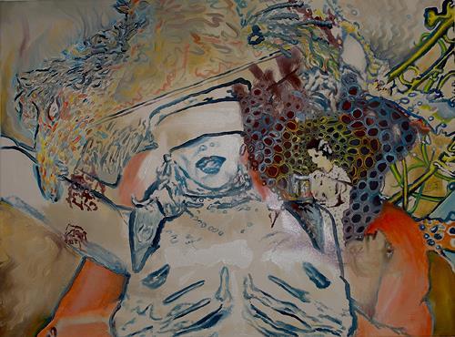 abschweifungen von schenkel diverse erotik situationen malerei. Black Bedroom Furniture Sets. Home Design Ideas