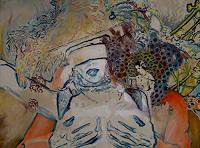 SCHENKEL-Diverse-Erotik-Situationen-Moderne-Jugendstil