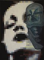 SCHENKEL-Menschen-Frau-Menschen-Gesichter-Gegenwartskunst--New-Image-Painting