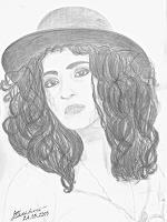 Micborn-Menschen-Portraet-Menschen-Frau-Neuzeit-Realismus