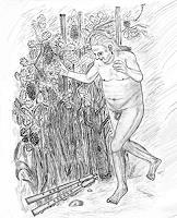 Micborn-Mythologie-Menschen-Mann-Gegenwartskunst-Gegenwartskunst