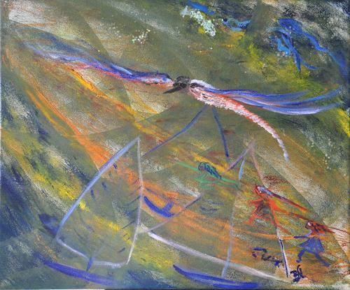 Barbara Straessle, Ferien, Fantasie, Freizeit, Gegenwartskunst, Expressionismus