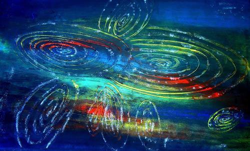 Barbara Straessle, Galaxiencluster, Diverse Weltraum, Weltraum: Gestirne, Gegenwartskunst