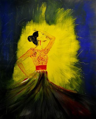 Barbara Straessle, Flamenco, Menschen: Frau, Bewegung, Gegenwartskunst