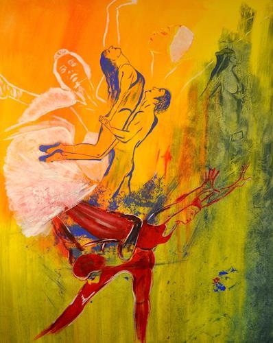 Barbara Straessle, Tanz, Diverse Menschen, Bewegung, Gegenwartskunst