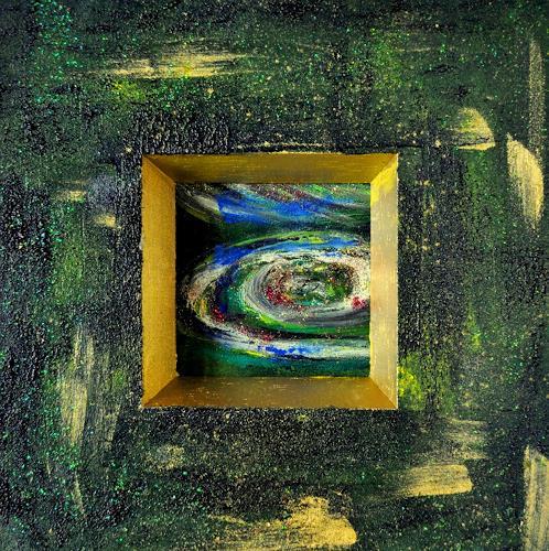 Barbara Straessle, Planeten III, Diverse Weltraum, Weltraum: Gestirne, Gegenwartskunst