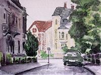 unikat2008-Diverse-Bauten-Diverse-Landschaften-Moderne-Impressionismus-Neo-Impressionismus