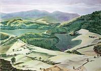 unikat2008-Landschaft-Berge-Diverse-Landschaften-Gegenwartskunst--New-Image-Painting