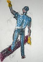 unikat2008-Arbeitswelt-Menschen-Mann-Gegenwartskunst--Neo-Expressionismus