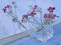 unikat2008-Dekoratives-Pflanzen-Blumen-Gegenwartskunst--New-Image-Painting