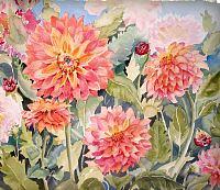 Stephanie-Zobrist-Pflanzen-Pflanzen-Blumen-Moderne-Naturalismus