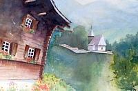Stephanie-Zobrist-Landschaft-Berge-Bauten-Neuzeit-Realismus