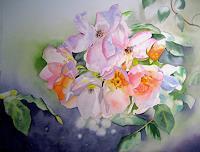 Stephanie-Zobrist-Diverse-Romantik-Pflanzen-Blumen-Moderne-Naturalismus