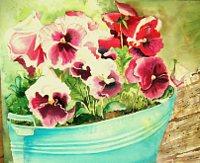 Stephanie-Zobrist-Stilleben-Pflanzen-Blumen-Moderne-Naturalismus