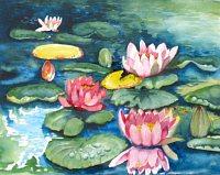 Stephanie-Zobrist-Natur-Wasser-Pflanzen-Blumen-Moderne-Naturalismus