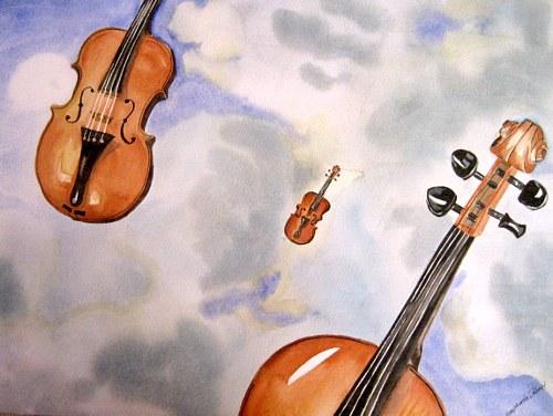 Stephanie Zobrist, Ein Himmel voller Geigen, Symbol, Märchen, Symbolismus