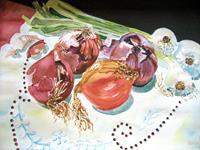 Stephanie-Zobrist-Pflanzen-Fruechte-Stilleben-Moderne-Naturalismus