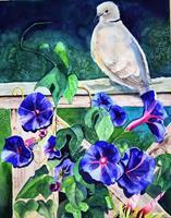 Stephanie-Zobrist-Diverse-Tiere-Pflanzen-Blumen-Moderne-Naturalismus