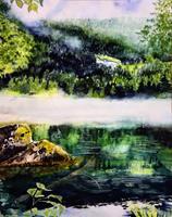 Stephanie-Zobrist-Landschaft-Berge-Natur-Wald-Moderne-Naturalismus