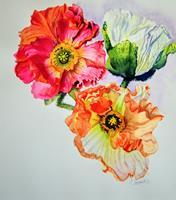 Stephanie-Zobrist-Pflanzen-Blumen-Pflanzen-Blumen-Neuzeit-Realismus
