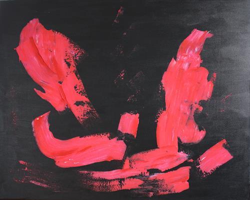 Ralf H. G. Schumacher, Pink, Dekoratives, Abstraktes, Gegenwartskunst