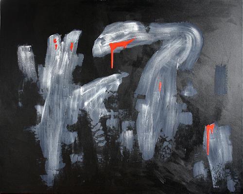 Ralf H. G. Schumacher, Rote Träne, Dekoratives, Diverses, Gegenwartskunst