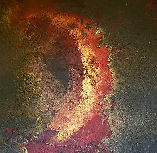 Soraya Hamzavi-Luyeh, O/T, Abstraktes, Expressionismus