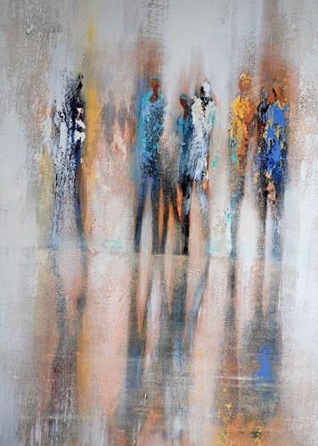 Soraya Hamzavi-Luyeh, Reflexioin, Menschen, Abstraktes, Abstrakte Kunst, Moderne
