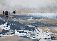 Soraya-Hamzavi-Luyeh-Menschen-Natur-Wasser-Moderne-Abstrakte-Kunst