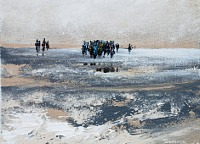 Soraya-Hamzavi-Luyeh-Landschaft-Menschen-Moderne-Abstrakte-Kunst