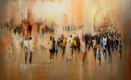 Soraya Hamzavi-Luyeh, Sonntag, Menschen, Abstraktes, Abstrakte Kunst, Expressionismus