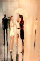 Soraya-Hamzavi-Luyeh-Menschen-Gefuehle-Freude-Moderne-Abstrakte-Kunst