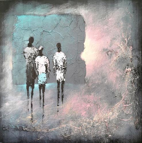 Soraya Hamzavi-Luyeh, Die Erlösung, Menschen, Gefühle: Freude, Abstrakte Kunst