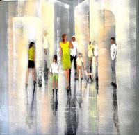 Soraya-Hamzavi-Luyeh-Menschen-Menschen-Familie-Moderne-Abstrakte-Kunst