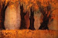 S. Hamzavi-Luyeh, Goldener Herbst