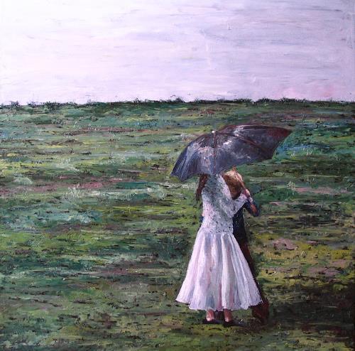 Martina Krupickova, Shall we dance, Menschen: Kinder, Bewegung, Neo-Impressionismus, Expressionismus