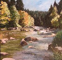 Martina-Krupickova-Natur-Wasser-Diverse-Landschaften-Moderne-Impressionismus-Neo-Impressionismus